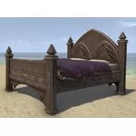 Alinor Bed, Polished Full