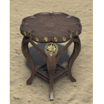 Alinor Nightstand, Scalloped
