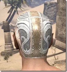 Psijic Skullcap Hat Male Rear