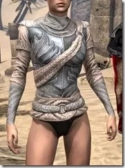 Pyandonean Iron Cuirass - Female Front