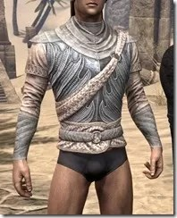 Pyandonean Iron Cuirass - Male Front