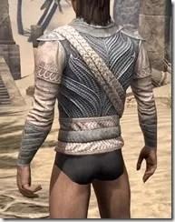 Pyandonean Iron Cuirass - Male Rear