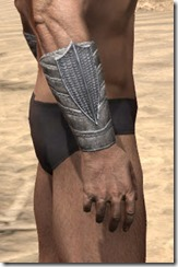 Pyandonean Iron Gauntlets - Male Right