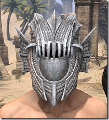 Pyandonean Iron Helm - Male Front