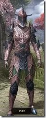 Auroran Knight Dyed Front