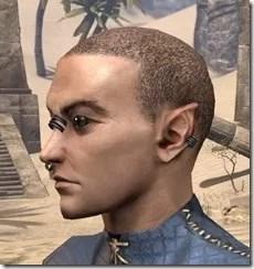 Fierce Pierce Facial Rings Male Side