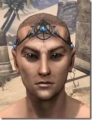 Magicka Brow Medallion - Male Front