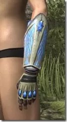 Psijic Shock Gauntlets - Dyed Side