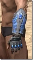 Psijic Shock Gauntlets - Male Side