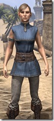 Rawhide-Laced Riften Jerkin Female Close Front