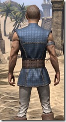 Rawhide-Laced Riften Jerkin Male Close Rear