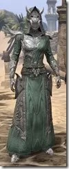 Dremora Homespun - Female Robe Front