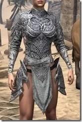 Dremora Iron Cuirass - Female Front