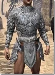 Dremora Iron Cuirass - Male Front