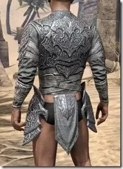 Dremora Iron Cuirass - Male Rear