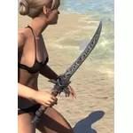 Dremora Iron Dagger