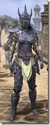Dremora Iron - Dyed Front