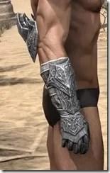 Dremora Iron Gauntlets - Male Right