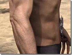 Dremora Iron Girdle - Male Right