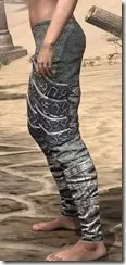 Dremora Iron Greaves - Female Side