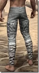 Dremora Iron Greaves - Male Rear