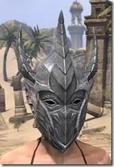 Dremora Iron Helm - Female Front