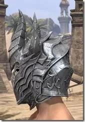 Dremora Iron Helm - Male Side