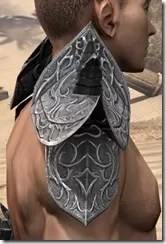 Dremora Iron Pauldrons - Male Right