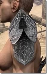Dremora Iron Pauldrons - Male Side