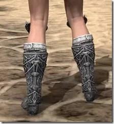 Dremora Iron Sabatons - Female Rear