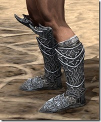 Dremora Iron Sabatons - Male Side