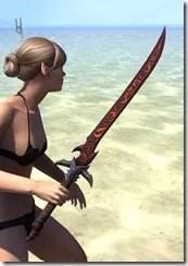 Dremora Rubedite Sword 2