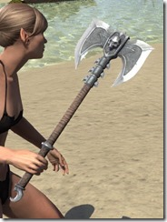 Fanged Worm Axe 2
