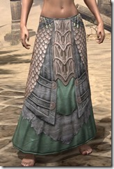 Fanged Worm Heavy Greaves - Female Front