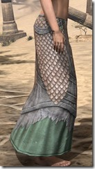 Fanged Worm Heavy Greaves - Female Right
