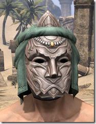 Fanged Worm Heavy Helm - Male Front
