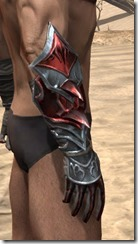 Firedrake Gauntlets - Male Right