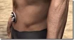Huntsman Medium Belt - Male Side