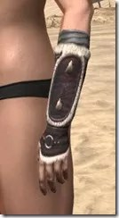 Huntsman Medium Bracers - Female Side