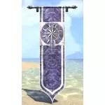 Shimmerene Banner, Hanging