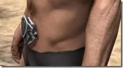 Silver Dawn Medium Belt - Male Side