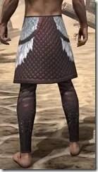 Silver Dawn Medium Guards - Male Rear