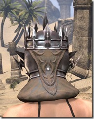 Stormlord Helm - Female Rear