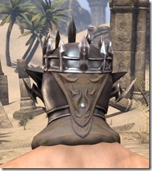 Stormlord Helm - Male Rear