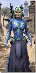 Welkynar Ancestor Silk - Dyed Robe Close Front
