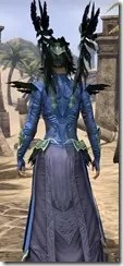 Welkynar Ancestor Silk - Dyed Robe Close Rear