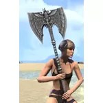 Welkynar Iron Battle Axe