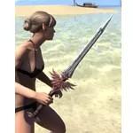 Welkynar Rubedite Sword