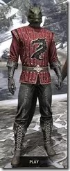Alliance Rider Outfit EP - Argonian Male Front