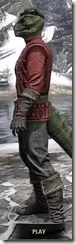 Alliance Rider Outfit EP - Argonian Male Side
